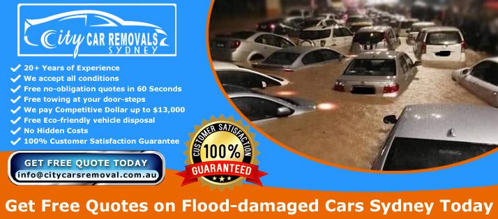Cash for Flood Damaged Cars Sydney